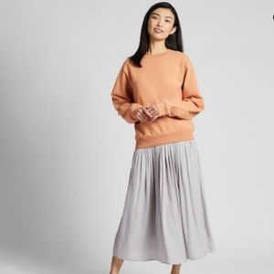 Uniqlo Silver / Grey Maxi Skirt Size XS